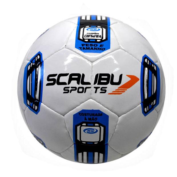 Bola Futebol de Campo MX 600 c  Costura PVC - Scalibu Sports 657234ad5760d